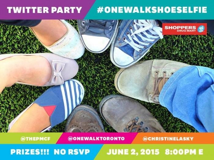 #OneWalkShoeSelfie